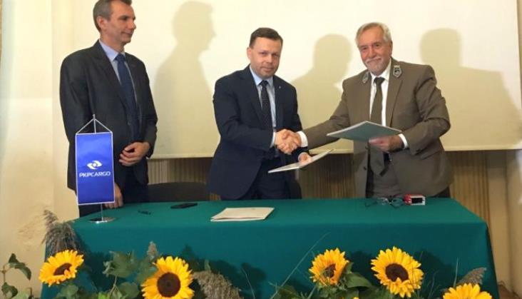 PKP Cargo będzie współpracować z Lasami Państwowymi