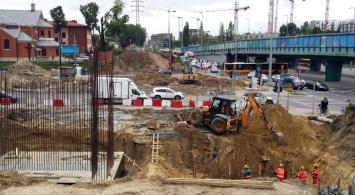 Warszawa: PLK nadganiają z Obozową. Zmieniają technologię [zdjęcia]