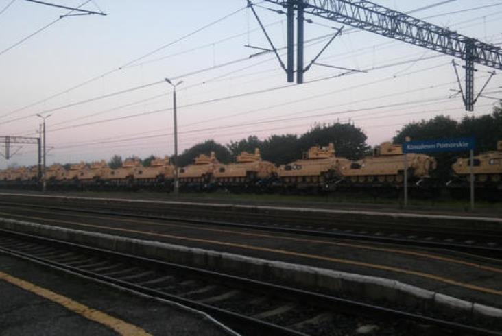 Prokuratura zajmie się wypadkiem wozów wojskowych w Kowalewie Pom.
