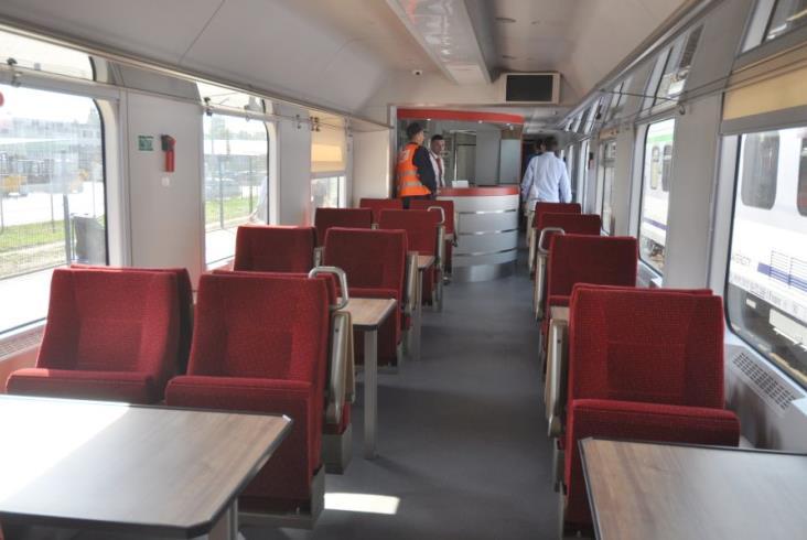 PKP Intercity pokazały na Trako zmodernizowane wagony [zdjęcia]