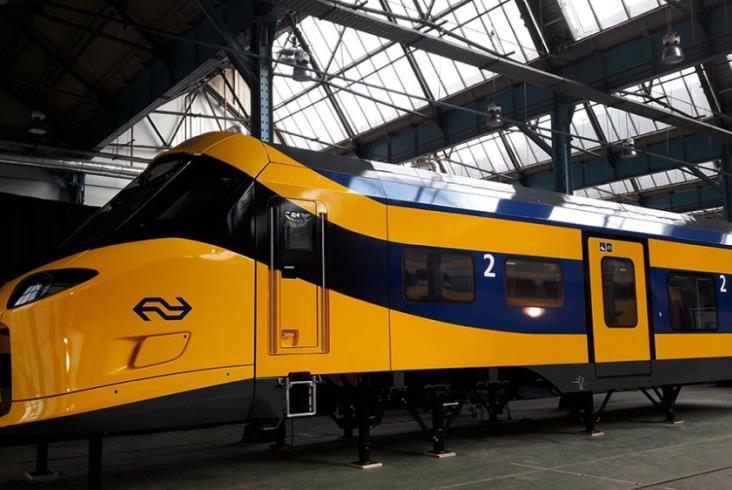 Alstom przedstawił Coradia Stream dla NS i Trenitalii