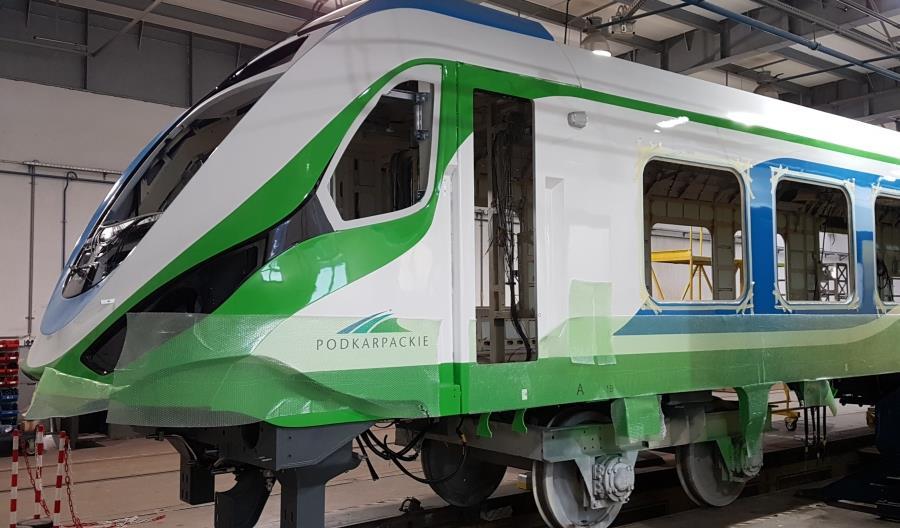Newag produkuje autobusy szynowe dla Podkarpacia [zdjęcia]