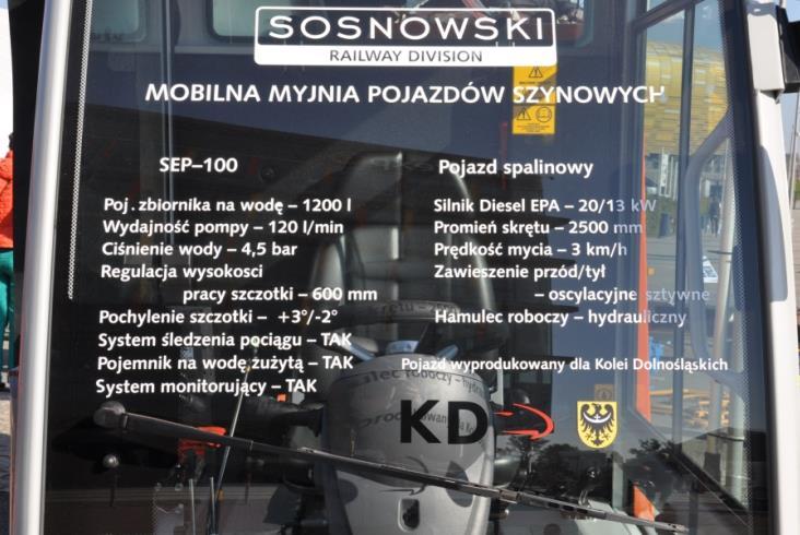 Sosnowski zbudował mobilne stacje obsługi pociągów dla KD [zdjęcia]