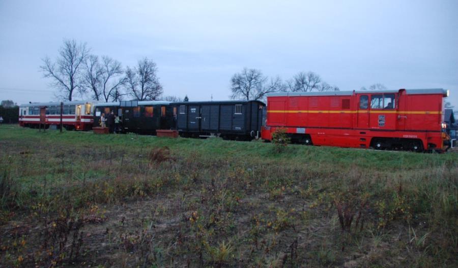 Kolejowe wątki w ofercie Srebrny pociąg