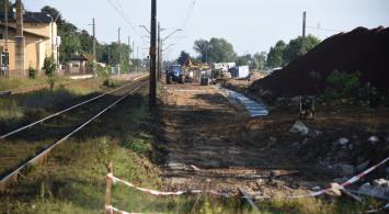 Modernizacja odcinka Rawicz - Czempiń [zdjęcia]