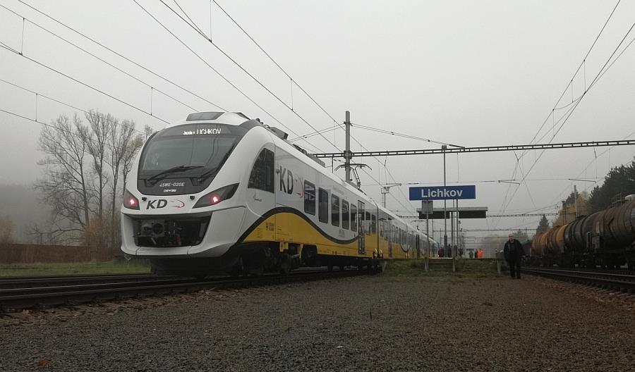 Impuls Kolei Dolnośląskich wjechał do Czech [zdjęcia]