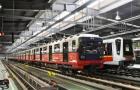 W metrze będzie jeździł świąteczne udekorowany pociąg