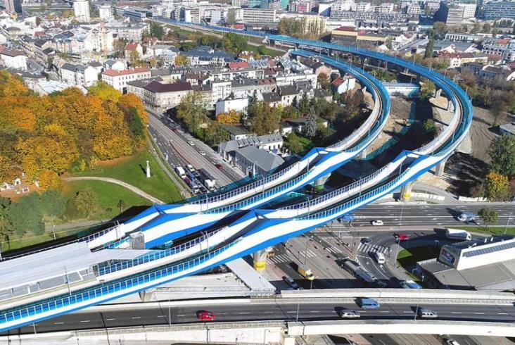 Łącznica w Krakowie oficjalnie otwarta