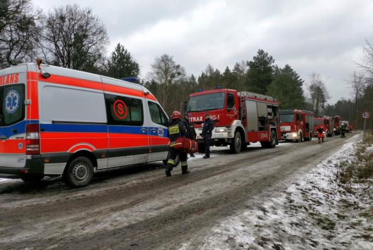 Pokaz działań w sytuacji kryzysowej Arrivy i służb