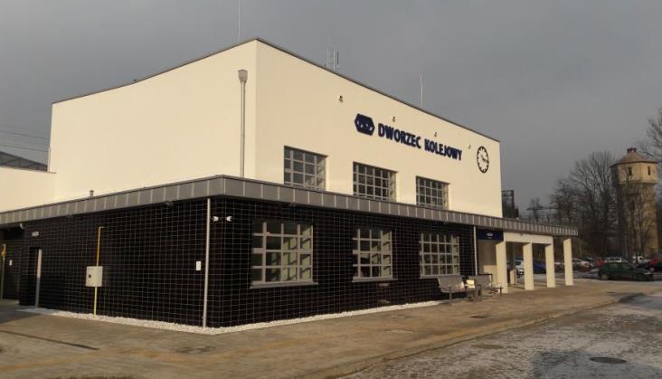 Zmodernizowany dworzec w Miechowie otwarty dla podróżnych