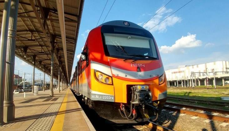 Zmodernizowane pojazdy serii EN57ALd także w Polsce Wschodniej