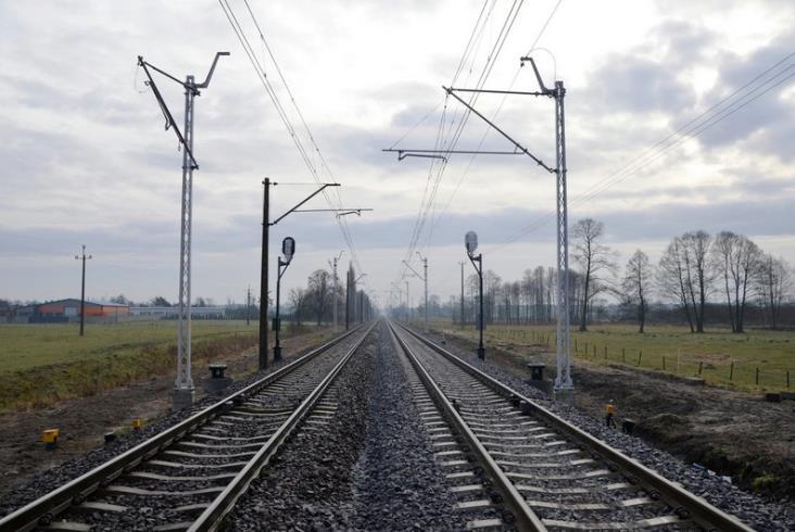 Trwają prace na Magistrali Węglowej. Powstał nowy peron pod Bydgoszczą [zdjęcia]