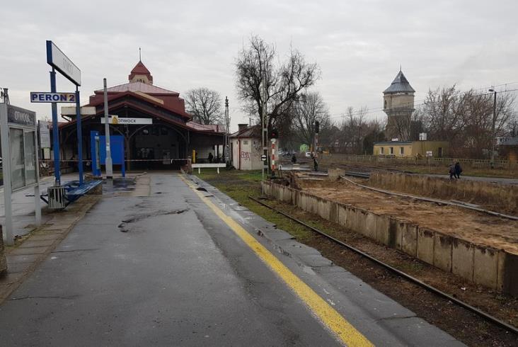 Trwają prace budowlane na stacji Otwock [zdjęcia]