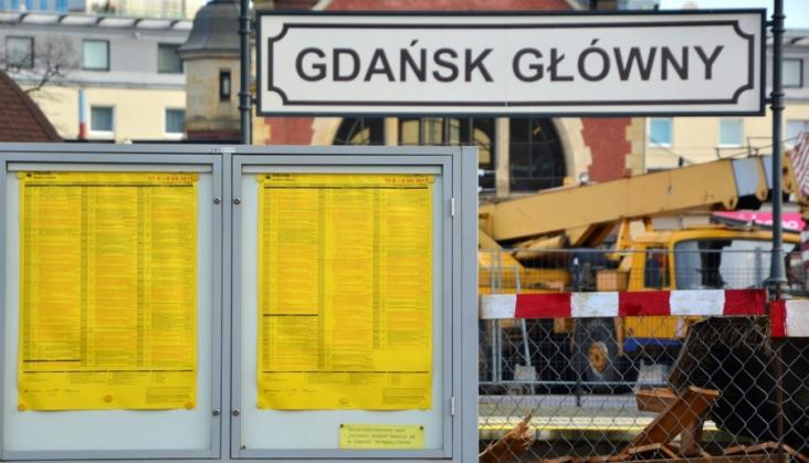 Zmienia się stacja w Gdańsku. Nowa organizacja ruchu w tunelu