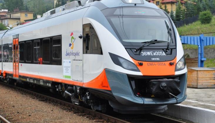 Newag dostarczy pociągi dla świętokrzyskiego