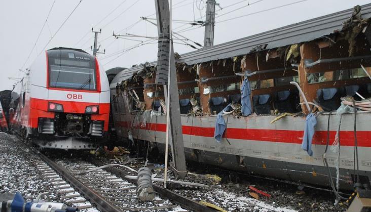 Poważny wypadek kolejowy w Austrii
