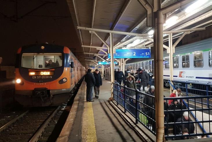 Przebudowa stacji Lublin: Od marca peron tymczasowy