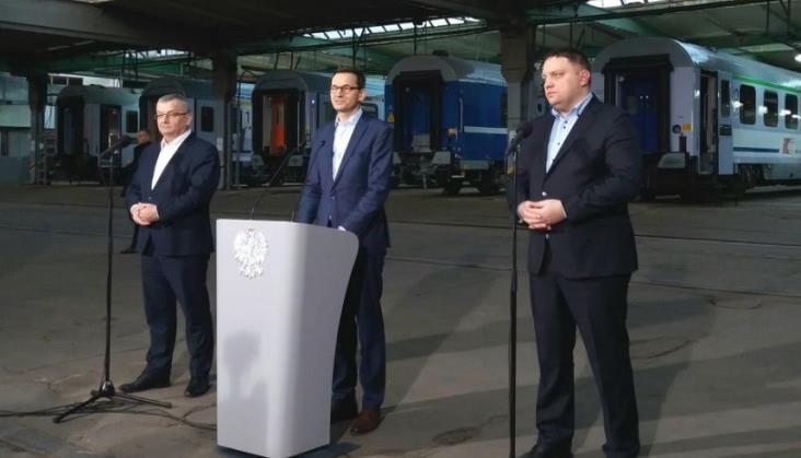 Cegielski zbuduje wagony dla PKP Intercity za prawie pół miliarda zł