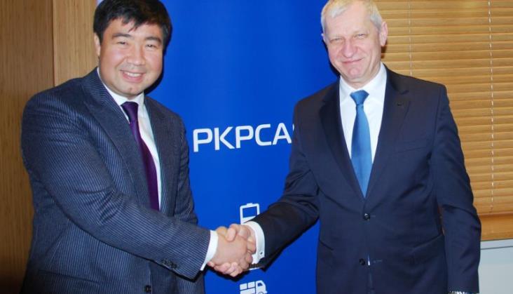 PKP Cargo o współpracy z Kazachstanem na Nowym Jedwabnym Szlaku