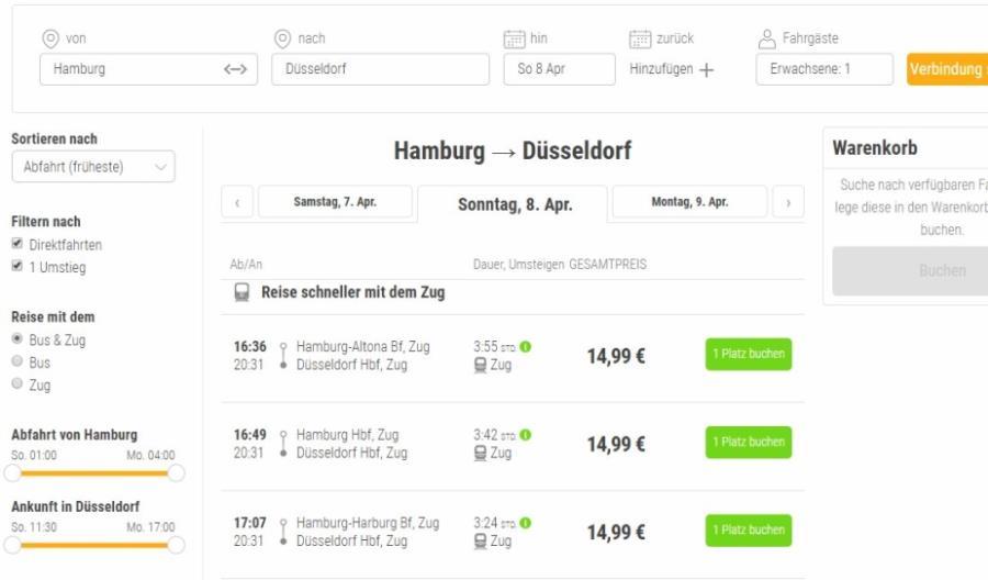 Po zdobyciu rynku autobusów Flixbus wchodzi na rynek kolejowy