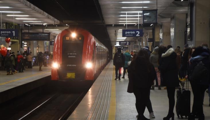 Kolejowy tunel średnicowy w Warszawie w marcu będzie częściowo zamknięty