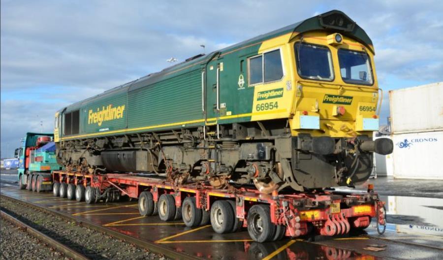 FPL: Do Polski jadą kolejne lokomotywy Class 66