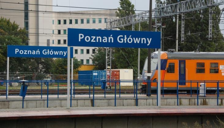 Zakończono modernizację wszystkich peronów na stacji Poznań Główny