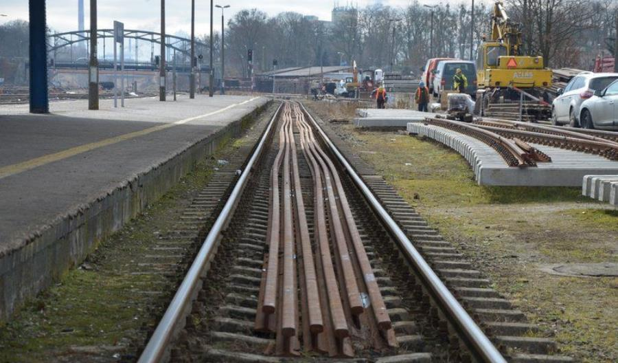 PLK zaprezentowała postępy prac na stacji Kwidzyn