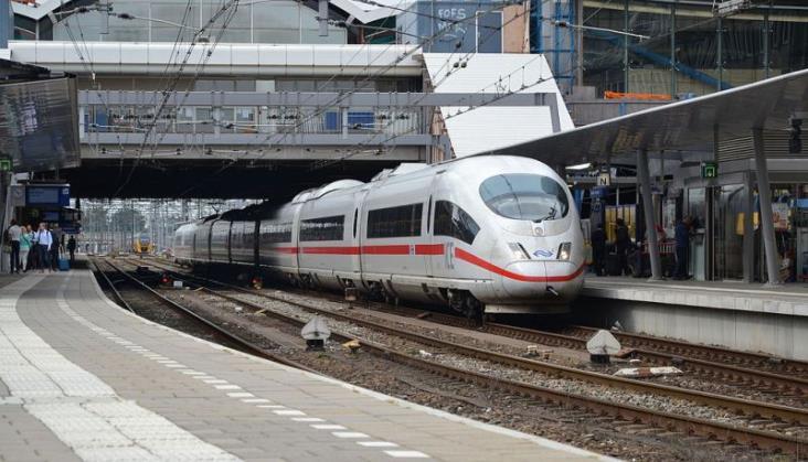 Sukces połączeń kolejowych z Niemiec do Belgii i Holandii