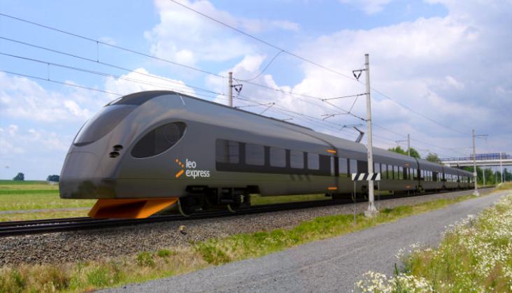 Premiera nowego pociągu Leo Express na Europejskim Forum Taborowym