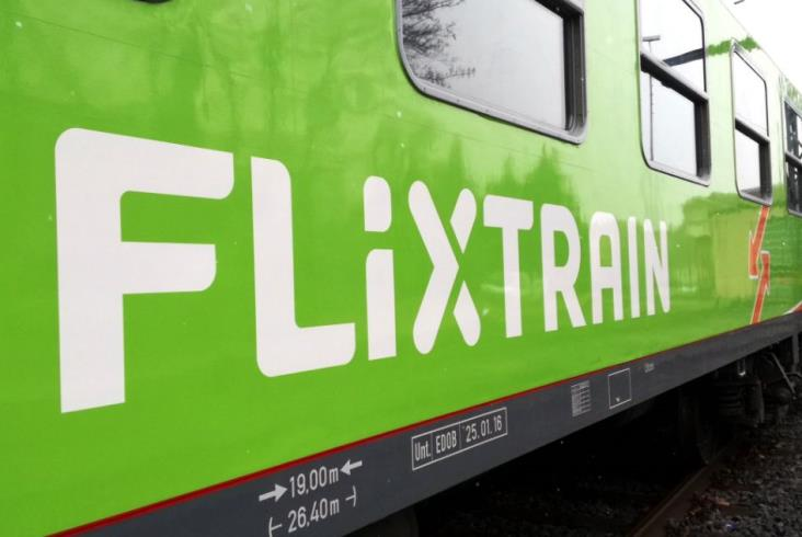 Zielony FlixTrain wyruszył
