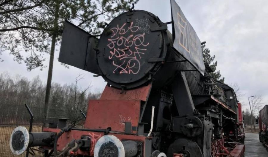 Parowóz zabrany z Wrocławia Świebodzkiego. Po renowacji stanie w Lubinie