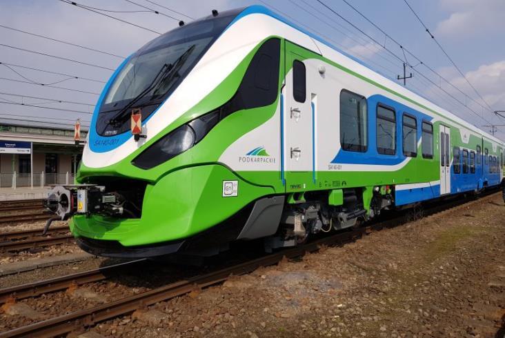 Newag dostarczył nowe pociągi spalinowe Podkarpaciu [zdjęcia]