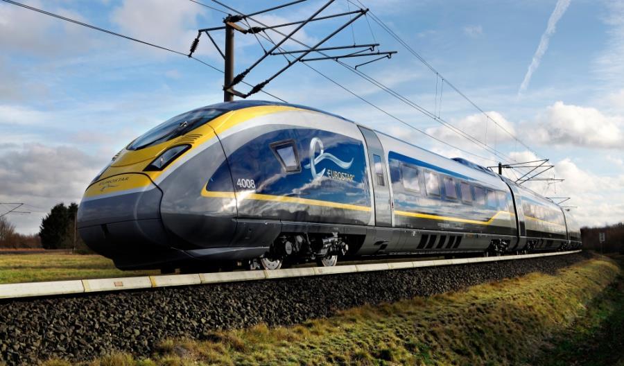 Eurostarem z Londynu do Amsterdamu