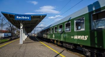 Stacja Racibórz stała się planem filmowym [zdjęcia]