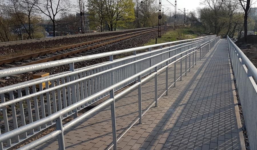 PKP PLK przebudowują przystanek kolejowy Warszawa ZOO [zdjęcia]