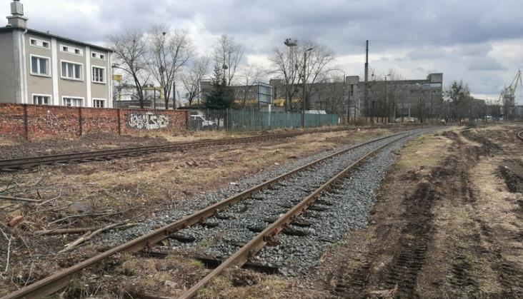 Stocznia Szczecin ponownie z połączeniem kolejowym