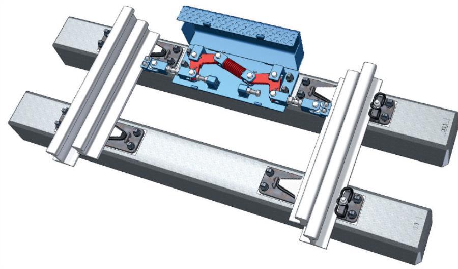 Nowe stabilizatory położenia iglic dla rozjazdów R300