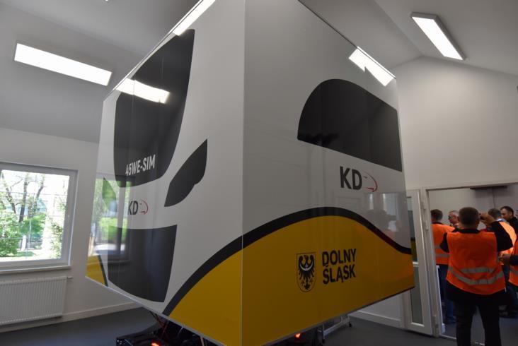 Koleje Dolnośląskie mają nowy symulator [zdjęcia]
