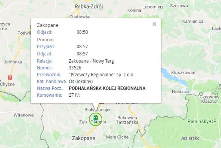 Ruszyła Podhalańska Kolej Regionalna. Omiń korki i wjedź do Zakopanego w osiem minut