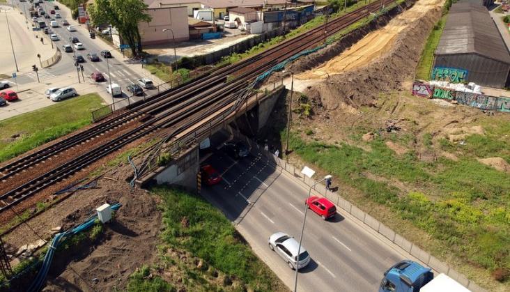 Modernizacja wiaduktów linii średnicowej w Krakowie [harmonogram prac]
