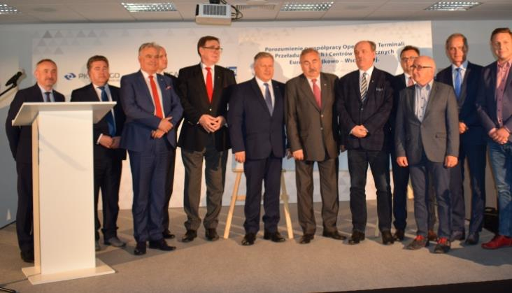 PKP pomoże w rozwoju terminali intermodalnych