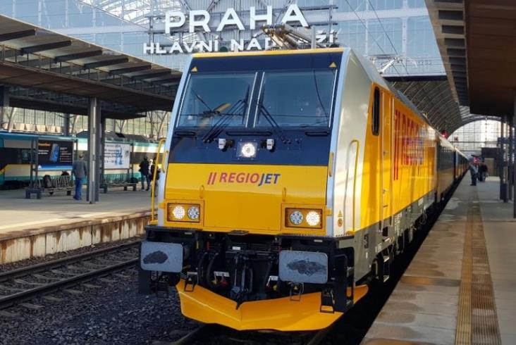 Czeski RegioJet już z nowym taborem