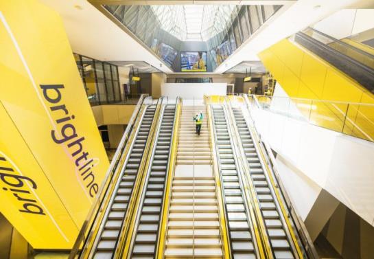 USA: Prywatna kolej Brightline wydłuża trasę