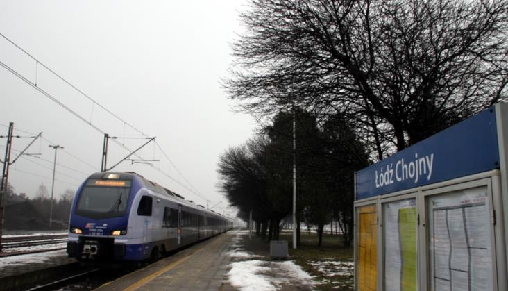 Łódź – Sieradz: Odwołane pociągi IC, ŁKA i PR