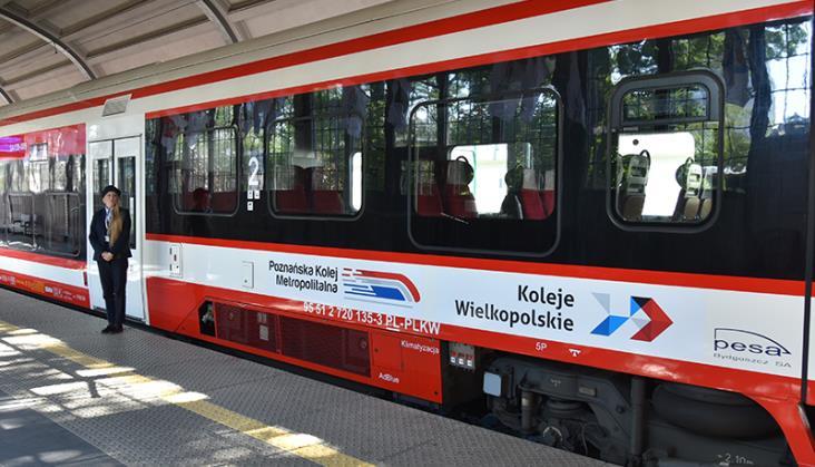 Poznańska Kolej Metropolitalna bez wieczornego pociągu przez pomyłkę
