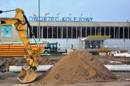 Kolej wybiera projektanta dla stacji i dworca Olsztyn Główny