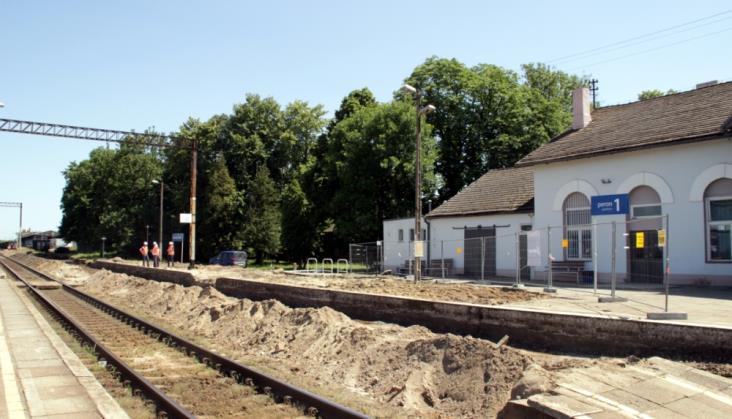 Rozpoczęły się roboty na stacji Zduńska Wola