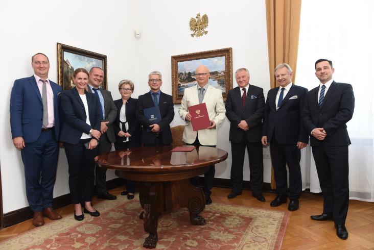 Współpraca Politechniki Krakowskiej i Urzędu Transportu Kolejowego