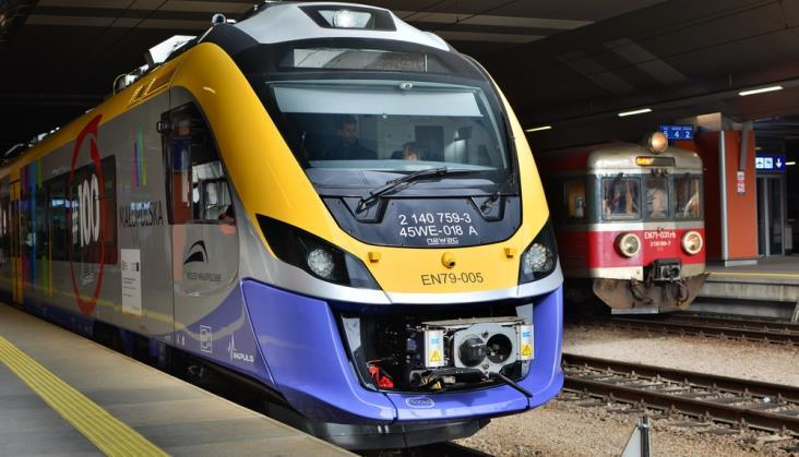 Koleje Małopolskie zapowiadają innowacje w nowych pociągach
